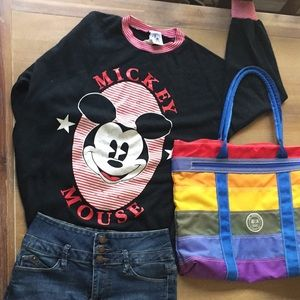 Vintage Disney Mickey Mouse shirt rare